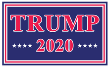 "*IN STOCK NOW* Trump 2020 Red And Blue Double Sided Yard Sign 14.5""X 23"" Inches"