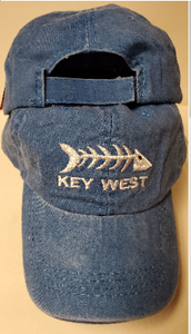 Key West Blue Fishbones - Cap