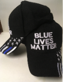 Blue Lives Matter Thin Blue Line - Cap
