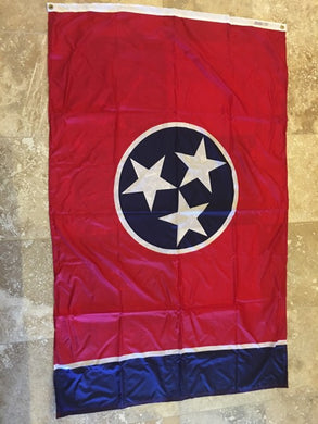 TENNESSEE 3'X5' EMBROIDERED 210D TN STATE FLAG