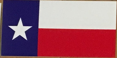 TEXAS STATE FLAG OFFICIAL BUMPER STICKER PACK OF 50 BUMPER STICKERS MADE IN USA WHOLESALE BY THE PACK OF 50!