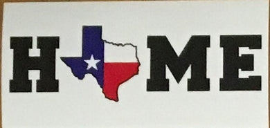 TEXAS IS HOME OFFICIAL BUMPER STICKER PACK OF 50 BUMPER STICKERS MADE IN USA WHOLESALE BY THE PACK OF 50!