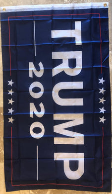 TRUMP 68D NYLON 2020 OFFICIAL CAMPAIGN FLAG