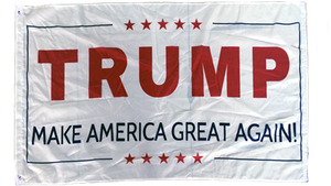 Trump V flag 3'x5' Rough Tex ® 68D