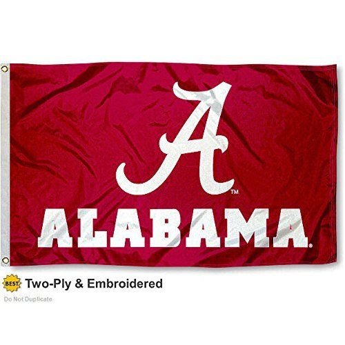 3'X5' UNIVERSITY OF ALABAMA OFFICIAL FLAG DOUBLE SIDED NYLON