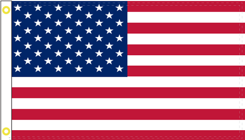 USA 3'X5' Flag Rough Tex® 200D Nylon