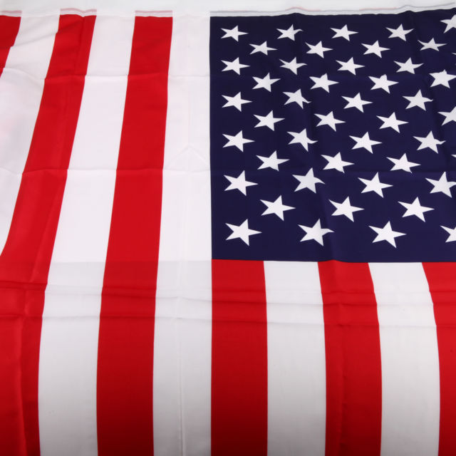 96 U.S.A. American Flags 3x5ft Economy Polyester