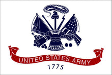 United States Army Double Sided  3'X5' Flag Rough Tex® 150D