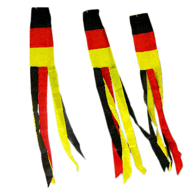 GERMAN PRINTED PLAIN Flag Wind Sock