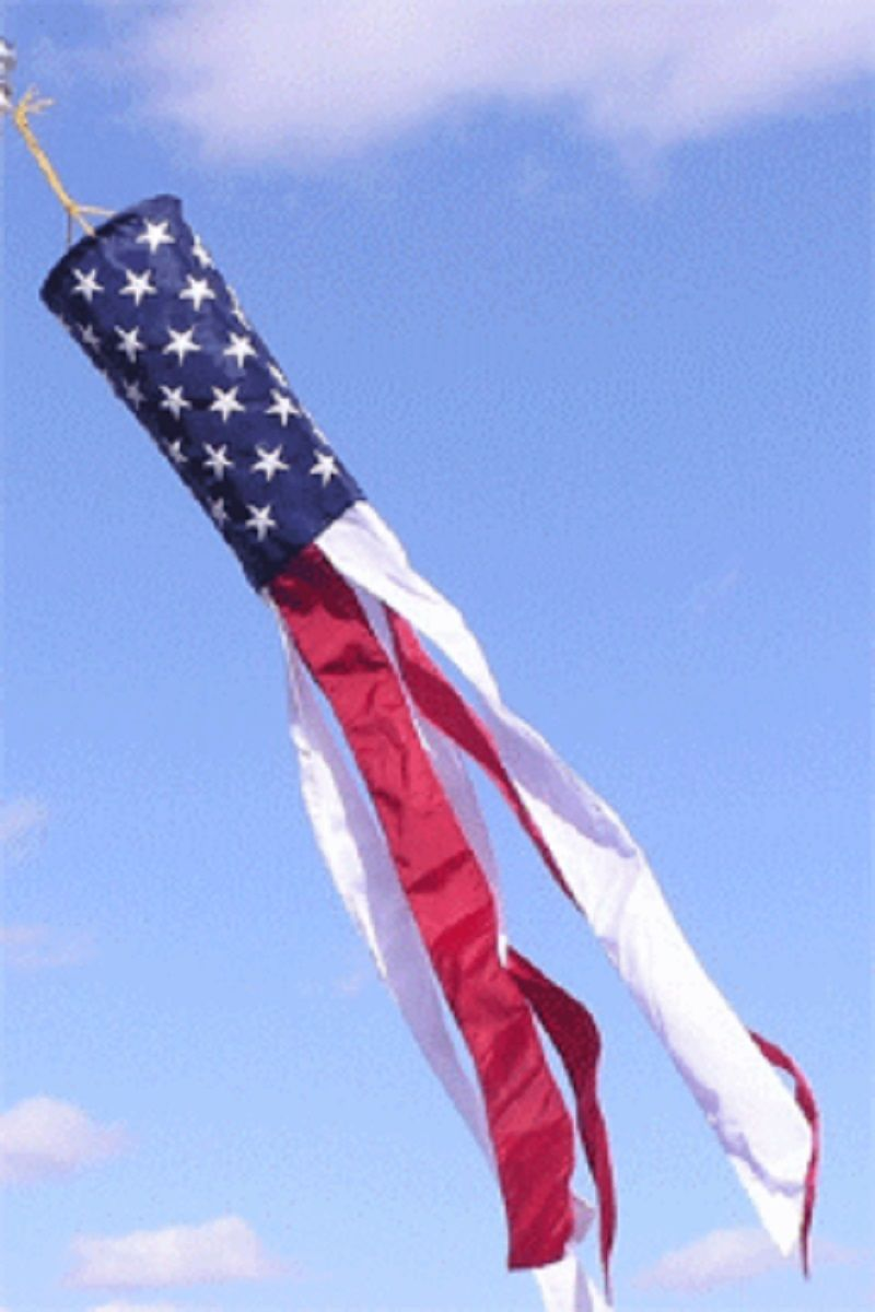 USA American Flag Wind Sock