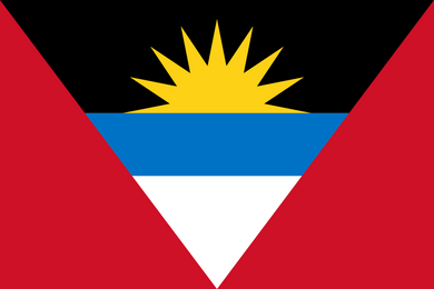 Antigua And Barbuda Flag 3x5ft Poly
