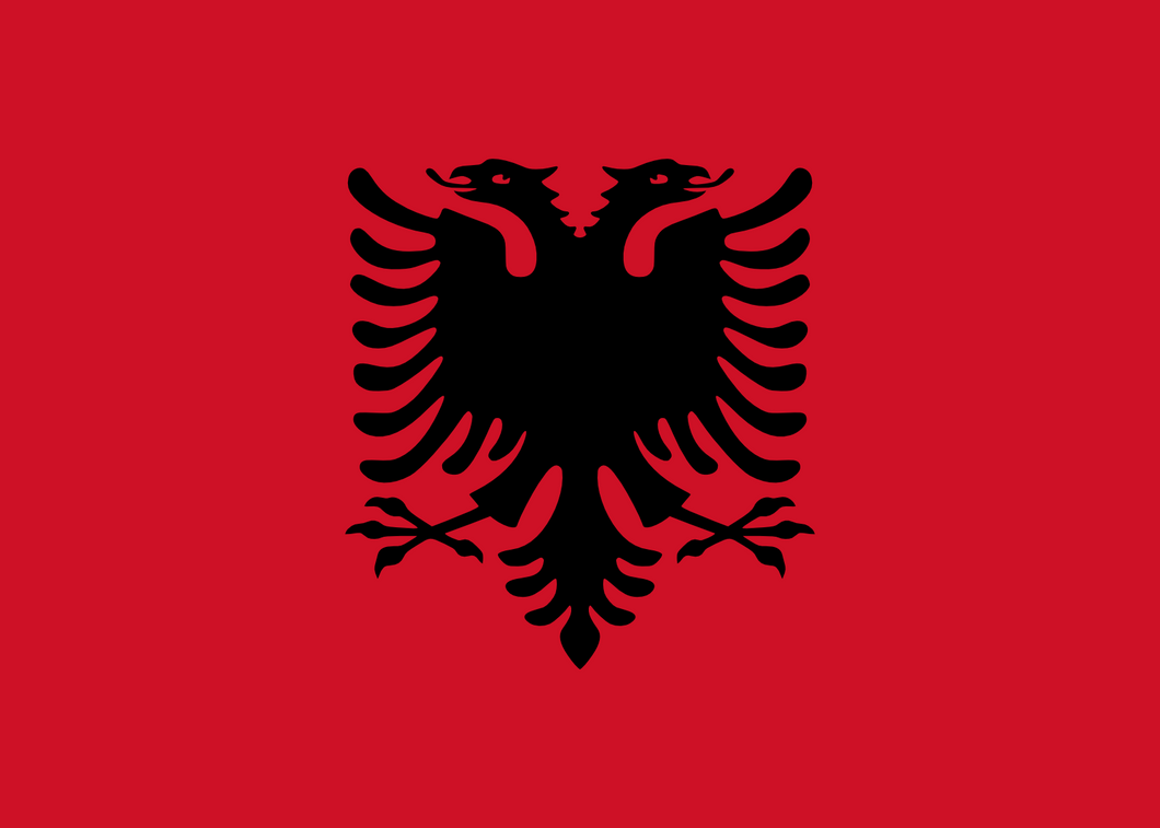 Albania Flag 3x5ft Poly