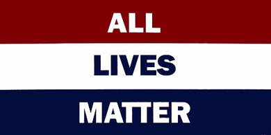 All Lives Matter 3'X5' Flag Rough Tex® 100D