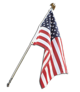 ANNIN FLAG POLE KIT 6' MADE IN USA AMERICAN FLAG 3X5