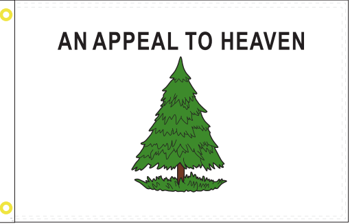 Appeal To Heaven Single Sided 3'X5' Flag Rough Tex® 150D Nylon