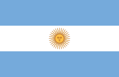 Argentina Flag 3x5ft Poly
