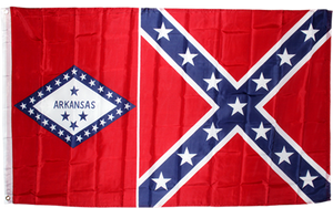 Arkansas Battle flag 3'x5' polyester