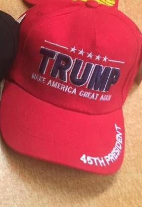 Official 45th President TRUMP cap