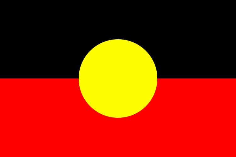 Aboriginal Flag 3x5ft Nylon
