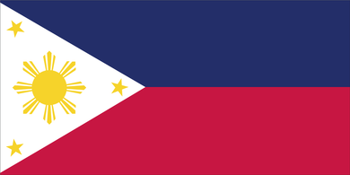 PHILIPPINES FLAG BUMPER STICKERS PACK OF 50 WHOLESALE