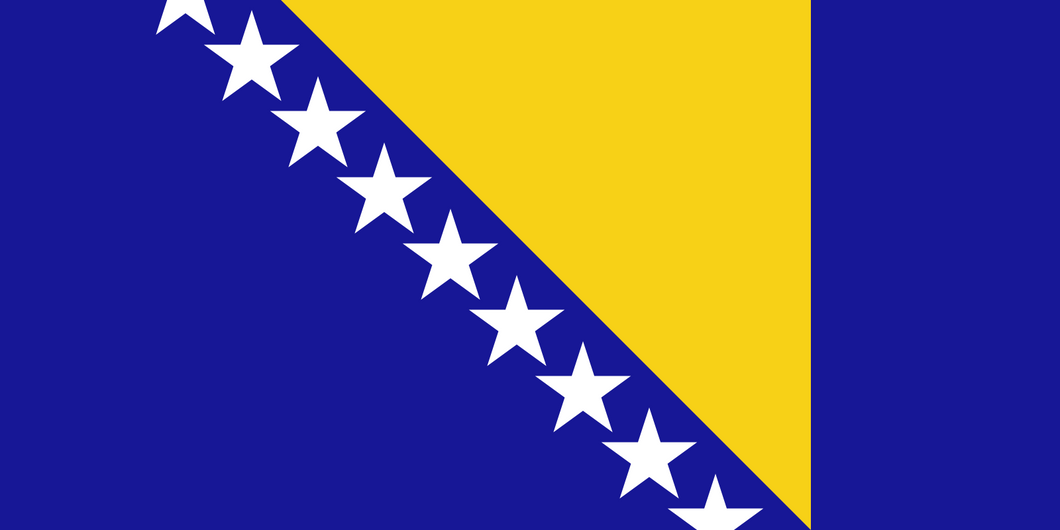 Bosnia And Herzegovina Flag 3x5ft Poly