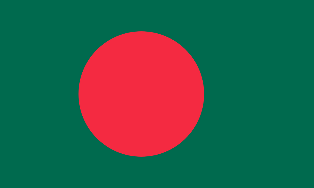 Bangladesh Flag 3x5ft Poly