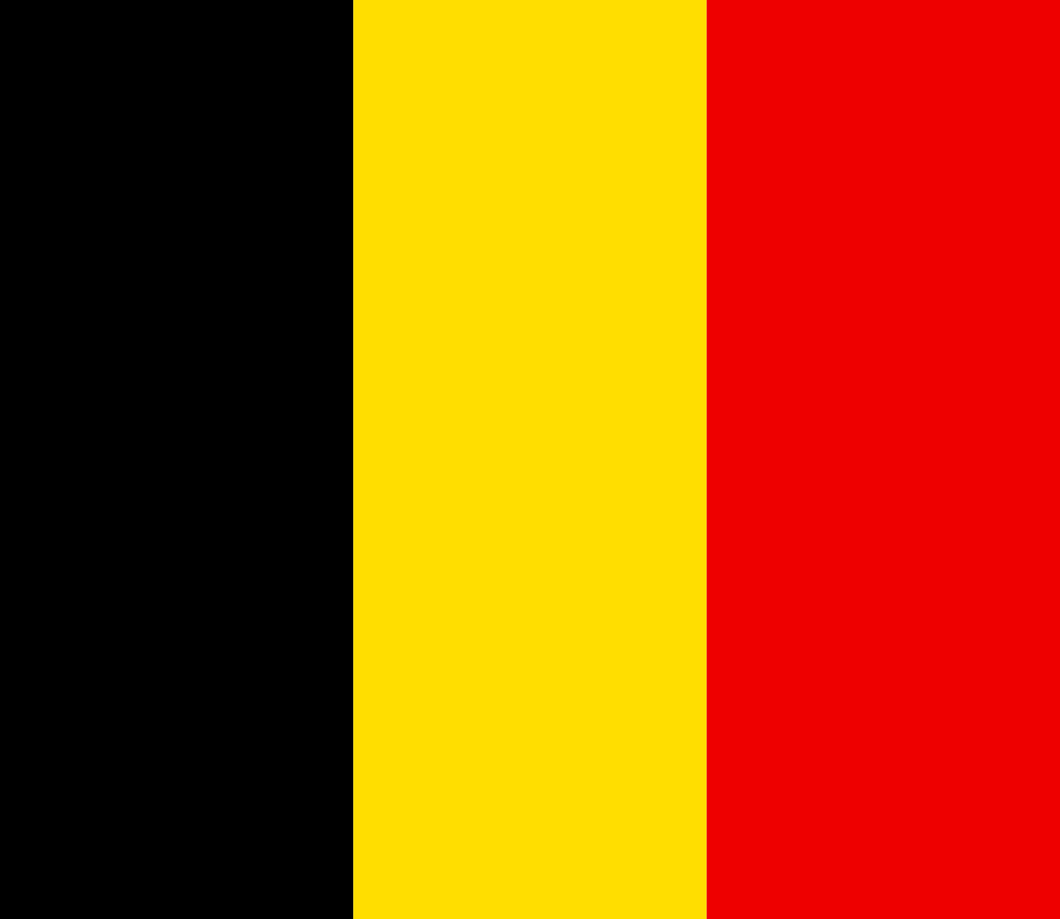 Belgium Flag 3x5ft Poly