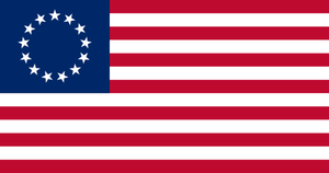 Betsy Ross Flag 3x5 feet Rough Tex ® 68D DuraLite ®Flag