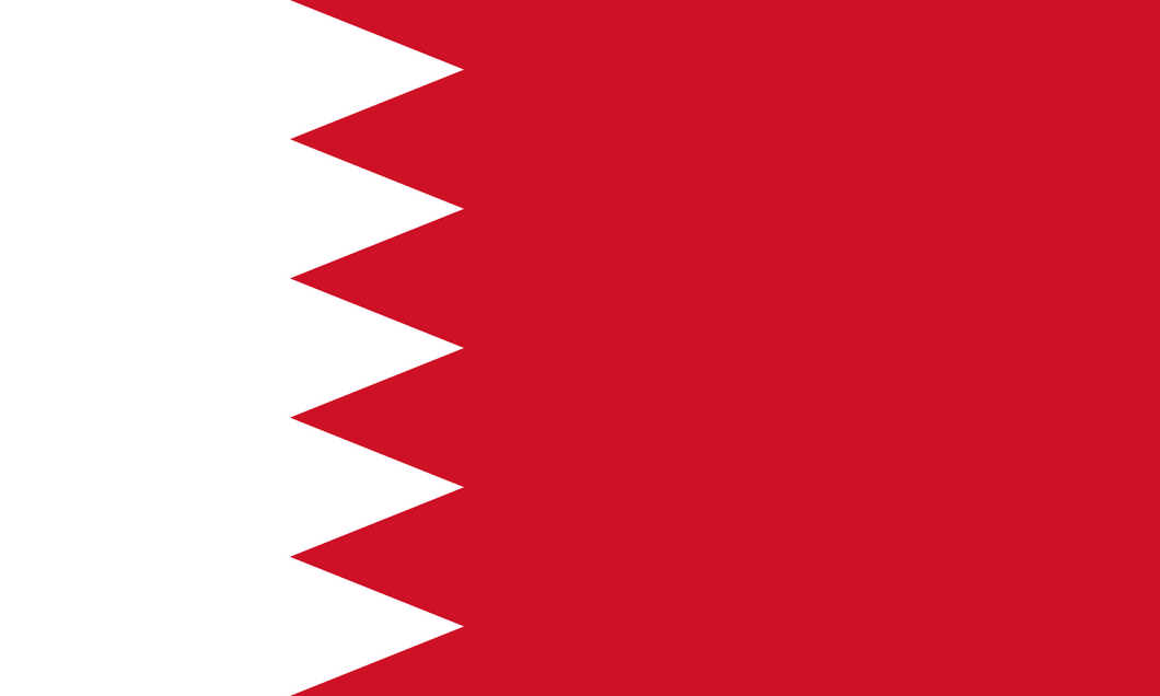 Bahrain Flag 3x5ft Poly