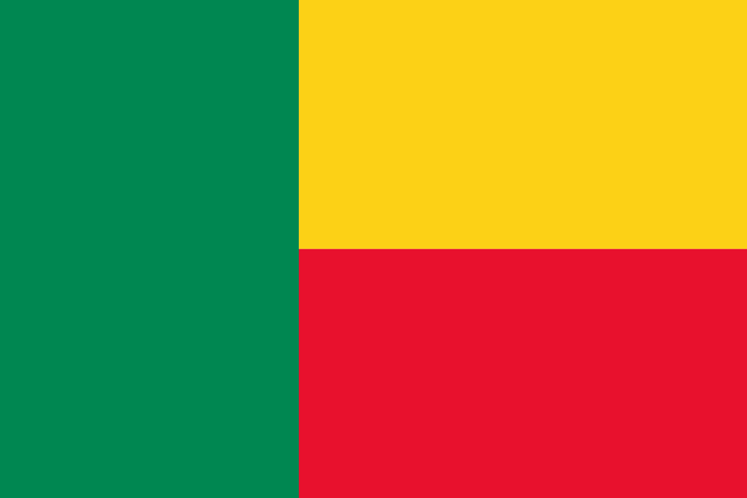 Benin Flag 3x5ft Poly