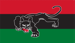 *COMING SOON* Black Afro American Panther 3'X5' Flag Rough Tex® 100D