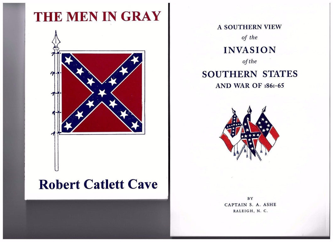 Men In Grey & Southern View of the Invasion of the CSA book sets