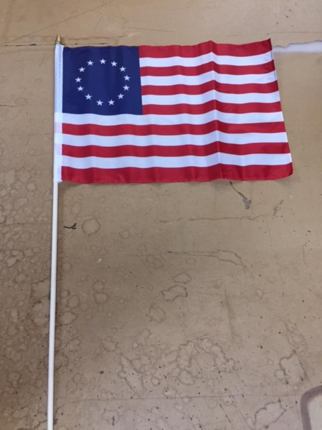 12 12x18  Inches American Betsy Ross Flags 30