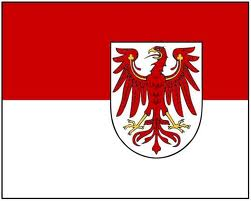 Brandenburg Germany Flag 3x5ft 100D