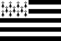 Bretagne France Flag 3x5ft 100D