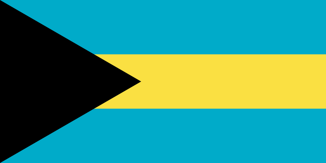 Bahamas Flag 3x5ft 100D