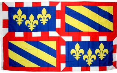 Burgundy France Flag 3x5ft 100D