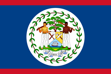 Belize Flag 3x5ft Poly