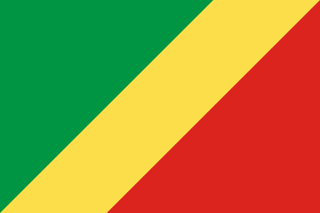Congo (Republic) Flag 3x5ft Poly
