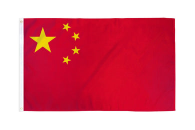 China Flag 3x5ft Nylon 210D