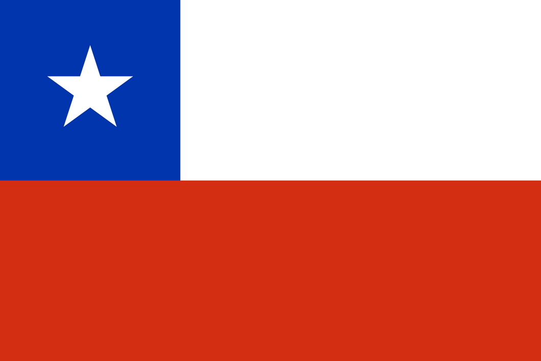 Chile Flag 3x5ft Poly