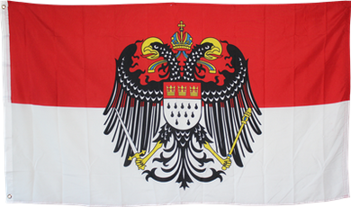 Cologne Germany Flag with Eagle 3x5ft 100D