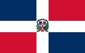 Dominican Republic Flag 3x5ft Poly