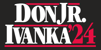 Don Jr Ivanka 2024 Bumper Sticker