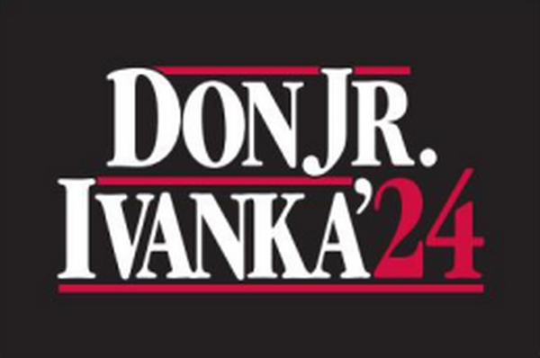 Don Jr. Ivanka 2024 3'X5' Flag Rough Tex® 100D