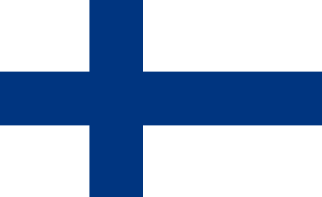 Finland Flag 3x5ft Poly