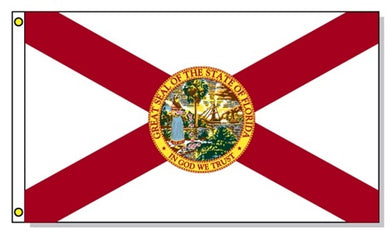 Florida State Flag 3x5ft economy printed 100D