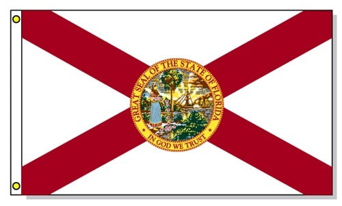 Florida State Flag 4x6ft 600d