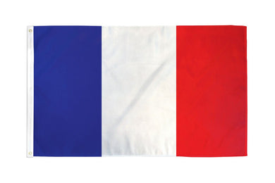 France Flag 3x5ft Nylon 210D