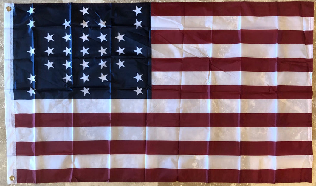 UNION CIVIL WAR FT. SUMTER OFFICIAL 68D NYLON PREMIUM UV PROTECTED WATER PROOF 3'X5' FLAGS ROUGH TEX